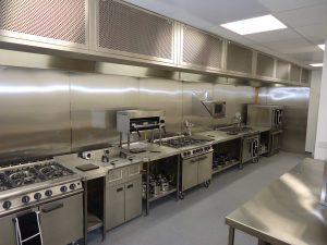 تهویه آشپزخانه های صنعتی
