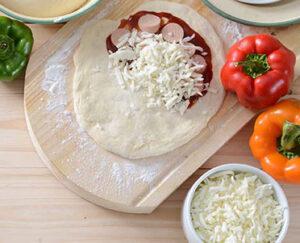 پنیر پیتزا یا موزارلا